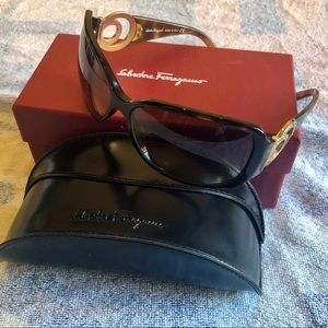 Authentic Salvatore Ferragamo Sunglasses